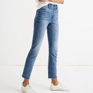 MADEWELL prefect vintage jeans in comfort stretch